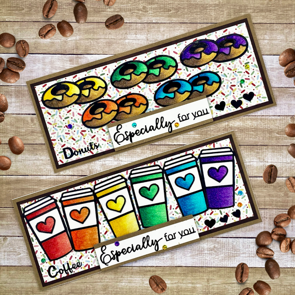 Coffee & Donuts Craft-along Kit (One of a Kind 5/1)