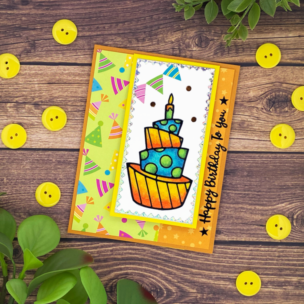 Birthday Easel Card Craft-along Kit (One of a Kind 5/22)