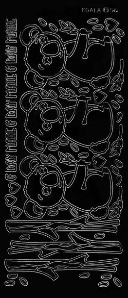 Koala Outline Sticker