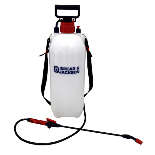 Spear & Jackson 8LPAPS 8 Litre Pump Action Pressure Sprayer