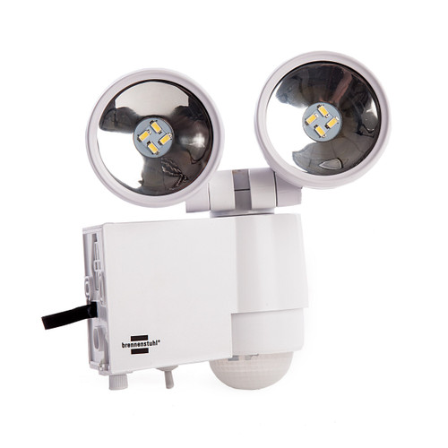 Brennenstuhl 1170920 Solar LED-Spot SOL 2x4 IP44 with PIR Sensor