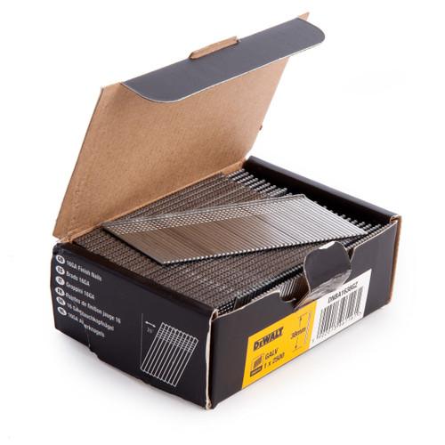 Dewalt DNBA1638-GZ 16GA Brad Finish Nail 20 Deg Galvanised 38mm (Pack of 2500)