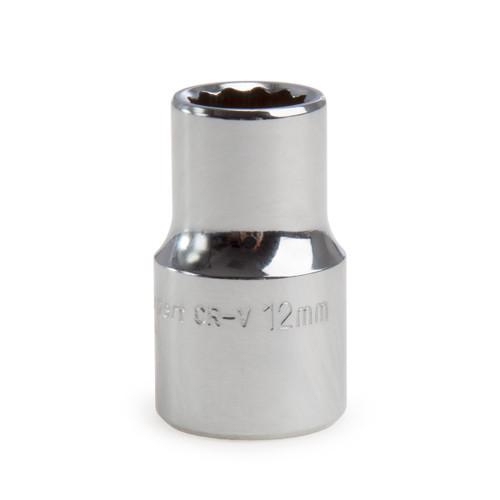 Draper 11873 (H-MMB) Expert 12mm 1/2in Square Drive Hi-Torq 12 Point Socket
