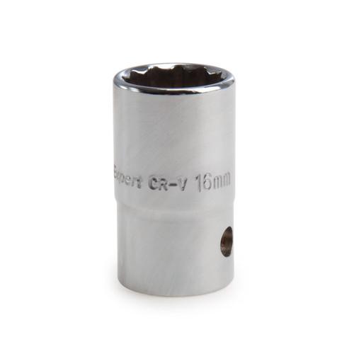 Draper 13236 (D-MMB) Expert 16mm 3/8in Square Drive Hi-torq 12 Point Socket