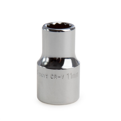 Draper 11872 (H-MMB) Expert 11mm 1/2in Square Drive Hi-Torq 12 Point Socket