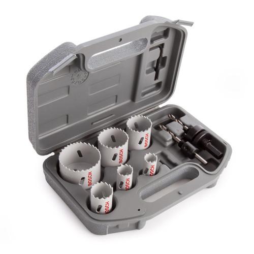 Bosch 2608580803 HSS Plumbers Holesaw Set (9 Piece)
