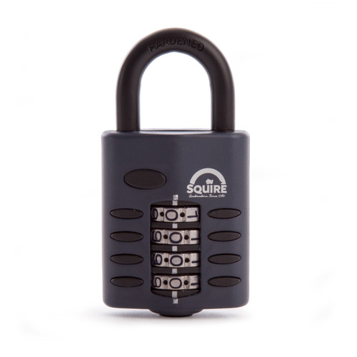 Henry Squire CP50 Recodable Combination Padlock Open Shackle