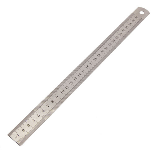"""Sealey AK9641 Steel Rule 300mm/12"""""""