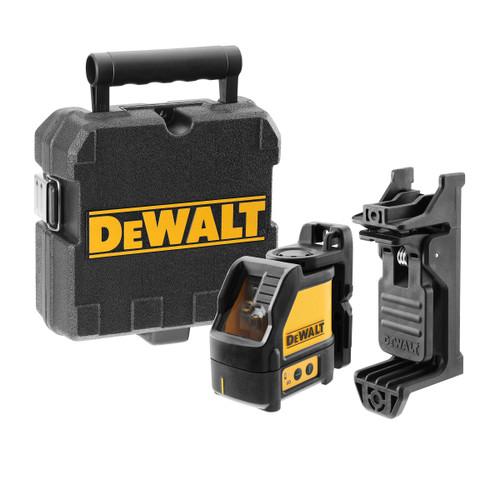 Dewalt DW088CG Green Self Levelling Cross Line Laser with Carry Case