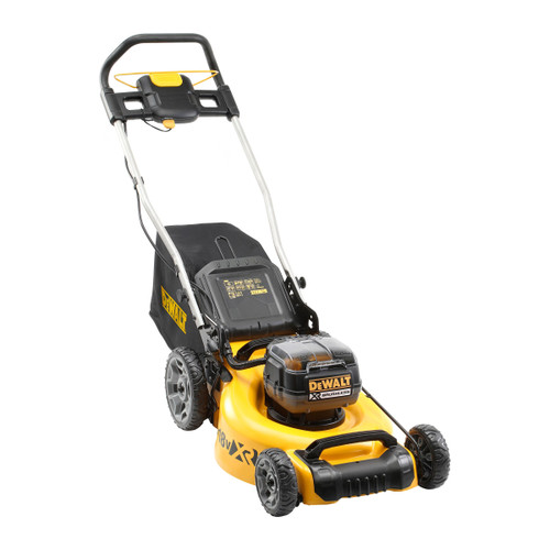 Dewalt DCMW564P2 36V XR Brushless Lawnmower 48cm (2 x 5.0Ah Batteries)