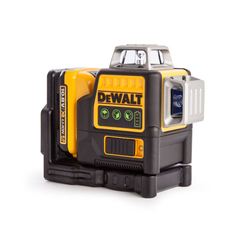 Dewalt DCE089D1G 10.8V Green Self Levelling Multi Line Laser (1 x 2.0Ah Battery)