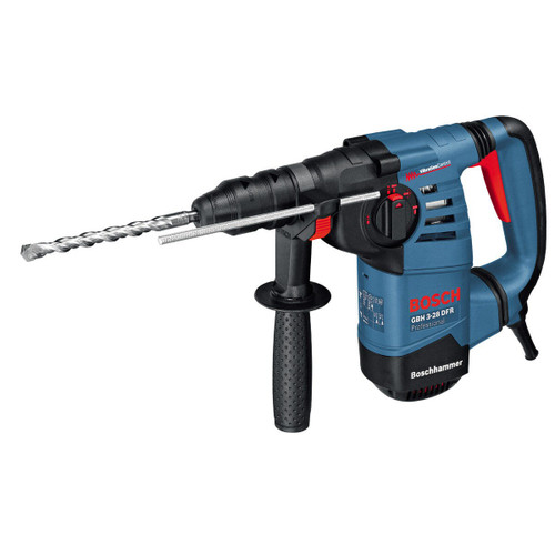 Bosch GBH3-28DFR SDS Plus Rotary Hammer Drill with QCC (110V)