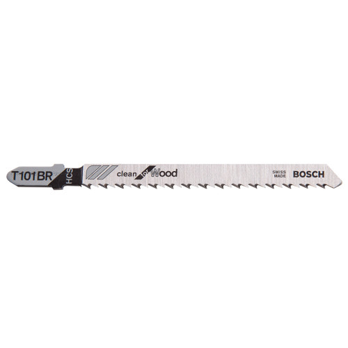 Bosch T101BR Clean for Wood Jigsaw Blades (5 Pack)