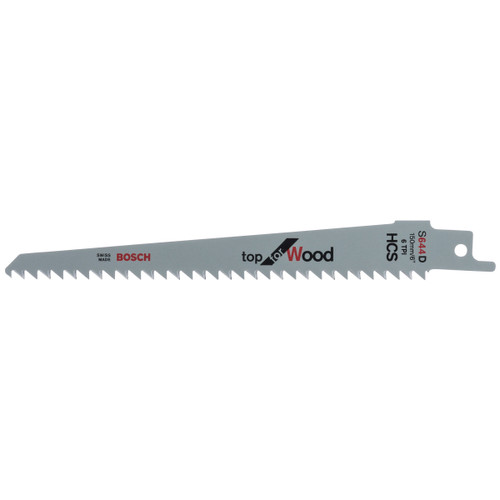 Bosch S644D (2608650673) Reciprocating Saw Blades for Wood 150mm (Pack Of 5)