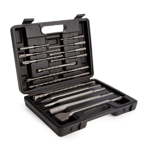 Abracs DCSET15 SDS+ Masonry Drill & Chisel Set (15 Piece)