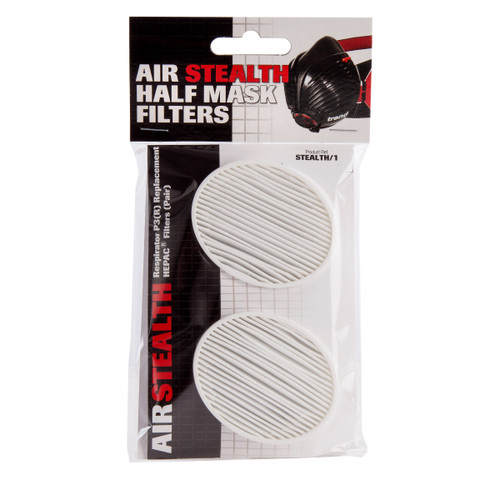 Trend Air Stealth Safety Respirator Half Mask Filters - (Pack of 2)