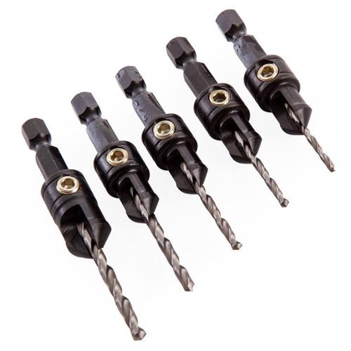 Trend SNAP/CS/SET 5 Piece Drill Countersink Set