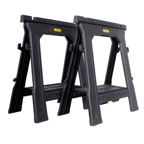 Stanley STST1-70713 Folding Sawhorse Twin Pack