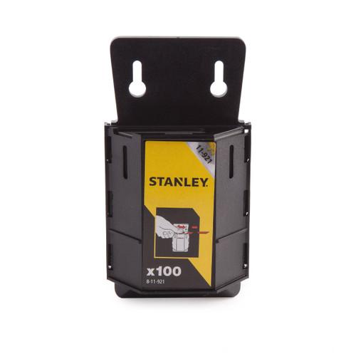 Stanley 8-11-921 1992B Knife Blades Heavy-Duty Pack of 100 Dispenser