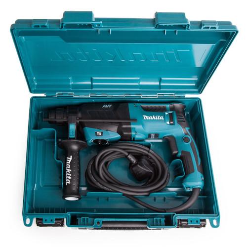 Makita HR2631F 3 Mode SDS Plus Rotary Hammer Drill with AVT (240V)