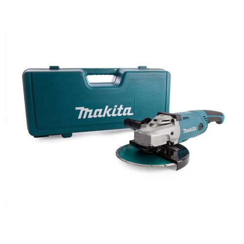 Makita GA9020KD 9 inch/230mm Angle Grinder with Kit Box & Diamond Blade (240V)