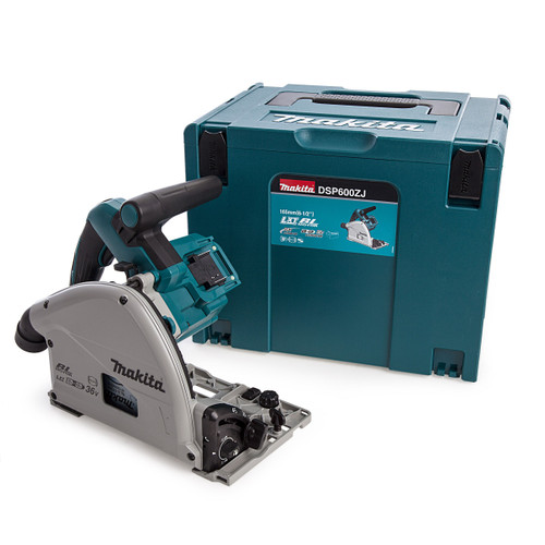 Makita DSP600ZJ 36 LXT 165mm Plunge Saw (Body Only) in MakPac Case