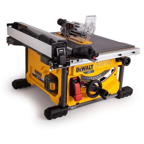 Dewalt DCS7485T2 54V XR Flexvolt Table Saw 210mm (2 x 6.0Ah Batteries)