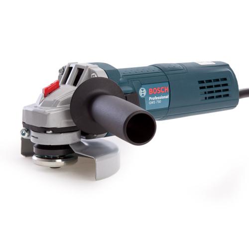 Bosch GWS 750 4.5 inch/115mm Angle Grinder (240V)