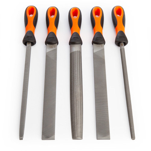 Bahco 1-478-10-1-2 Assorted Engineers File Set 10 Inch / 250mm (5 Piece)