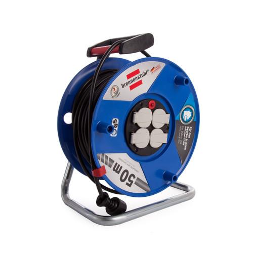 Brennenstuhl 1208060 Garant Cable Reel 50 Metre 16A 240V