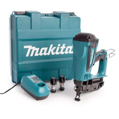 Makita GF600SE 7.2V 2nd Fix Gas Nailer (2 x 1.5Ah Batteries)