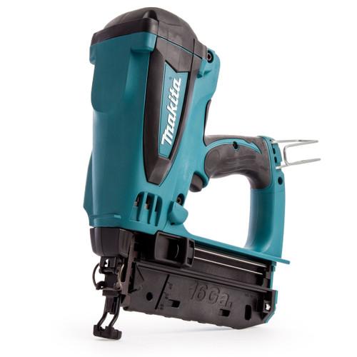 Makita GF600SE 7.2V Cordless 2nd Fix Gas Nailer (2 x 1.5Ah Batteries)