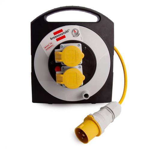 Brennenstuhl 1095453110 PrimeraLine 2 Socket Cable Reel 110V