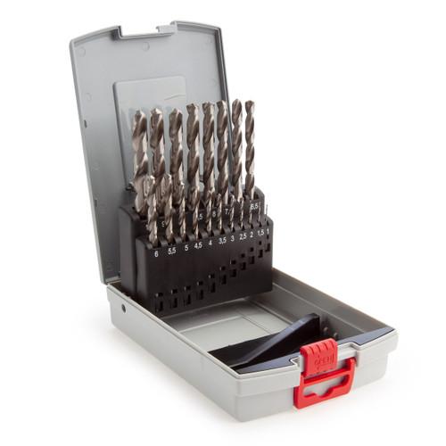 Bosch 2608587013 HSS-G Metal Drill Bit Set (19 Piece)