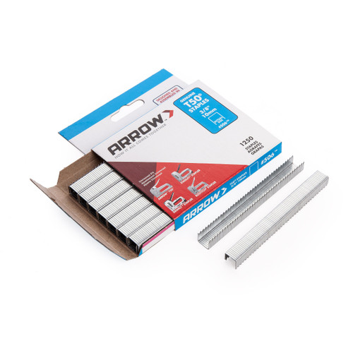 Arrow 50624 T50 Staples 10mm 3/8in (Pack Of 1250)
