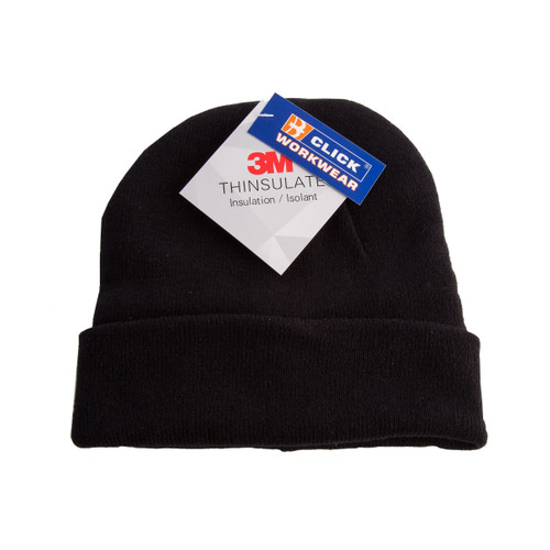 Beeswift THHBL Thinsulate Beenie Hat (Black)
