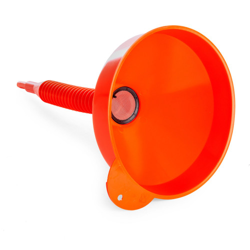 Sealey F2F Flexi-Spout Funnel Medium With Filter 200mm