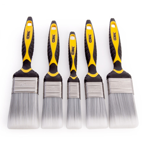 Coral 31505 Shurglide Paint Brush Set (5 Piece)