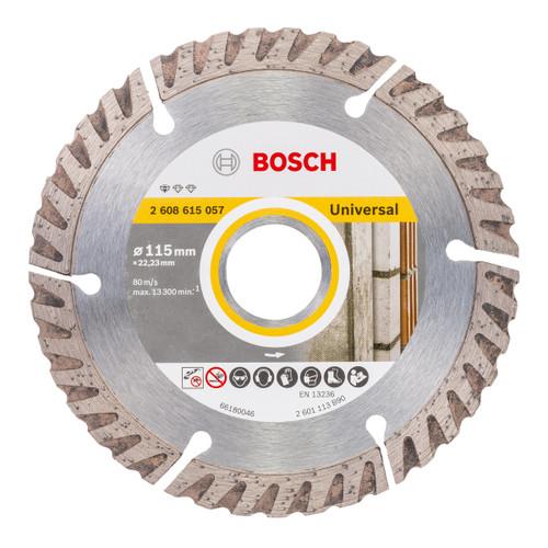 Bosch 2608615057 Universal Diamond Blade 115mm