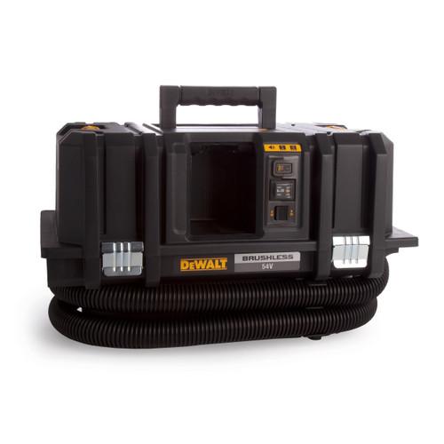 Dewalt DCV586MT2 54V XR FlexVolt M Class Wet & Dry Dust Extractor (2 x 6.0Ah Batteries)