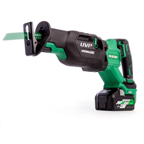 HiKOKI CR 36DA 36V Multi-Volt Brushless Reciprocating Saw (2 x 4.0Ah Batteries)