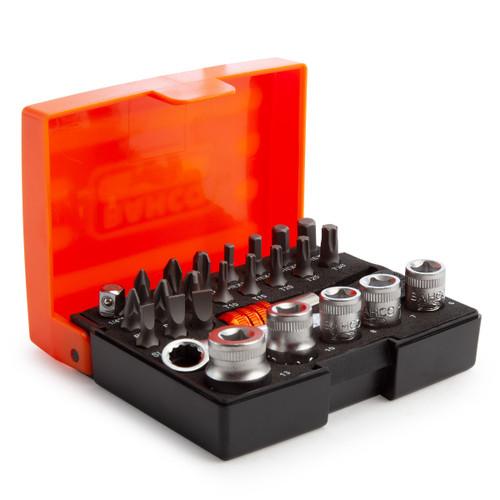 Bahco 2058/S26 Ratchet Socket Bit Set (26 Piece)