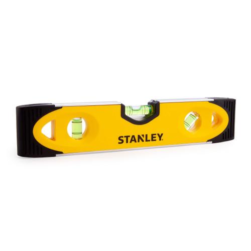 "Stanley 230mm / 9"" Shock Proof Magnetic Torpedo Level 3 Vials (0-43-511)"