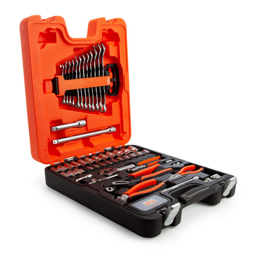 Bahco S81MIX Socket & Pliers Set 1/2 and 1/4in Drive (81 Piece)