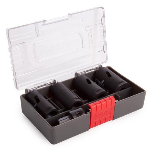 Abracs ABHSCKIT5 Cobalt Holesaw Kit (5 Piece)
