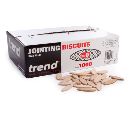 Trend BSC/0/1000 Size 0 Jointing Biscuits (Pack Of 1000)