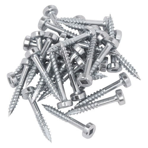 Trend PH/6X25/500 25mm No 6 Pocket Hole Fine Screws (Pack Of 500)