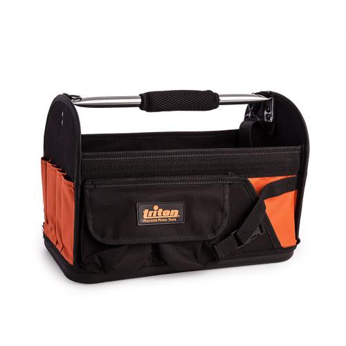 Triton 529073 Open Tote Hardbottom Tool Bag 370 x 180 x 170mm