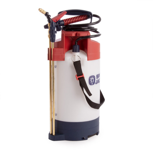 Spear & Jackson 5LPAPSWOOD Pressure Sprayer With Built In Gauge 5L