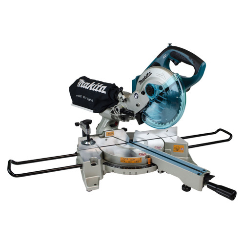 Makita DLS713NZ 18V LXT 190mm Double Bevel Sliding Compound Mitre Saw (Body Only)